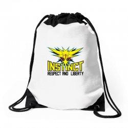 team instinct (3) Drawstring Bags   Artistshot