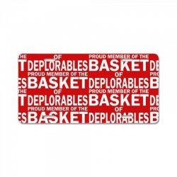 PROUD MEMBER OF THE BASKET OF DEPLORABLES License Plate | Artistshot