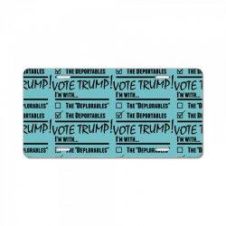 Donald Trump Deportables License Plate | Artistshot