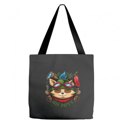 Teemo On Duty Tote Bags Designed By Mdk Art