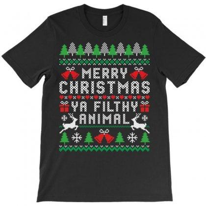Merry Christmas Ya Filthy Animal T-shirt Designed By Tshiart