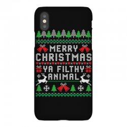 merry christmas ya filthy animal iPhoneX Case | Artistshot