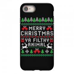 merry christmas ya filthy animal iPhone 8 Case | Artistshot