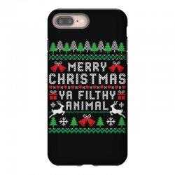 merry christmas ya filthy animal iPhone 8 Plus Case | Artistshot