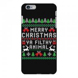 merry christmas ya filthy animal iPhone 6 Plus/6s Plus Case | Artistshot