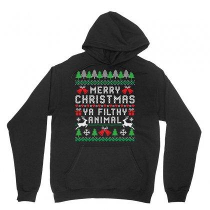 Merry Christmas Ya Filthy Animal Unisex Hoodie Designed By Tshiart