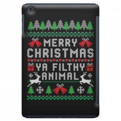 merry christmas ya filthy animal iPad Mini Case | Artistshot
