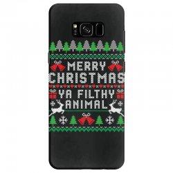 merry christmas ya filthy animal Samsung Galaxy S8 | Artistshot