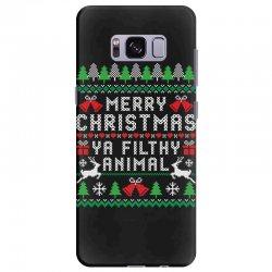merry christmas ya filthy animal Samsung Galaxy S8 Plus | Artistshot