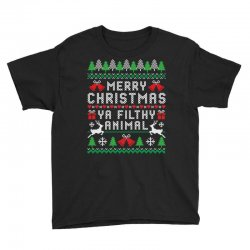 merry christmas ya filthy animal Youth Tee | Artistshot