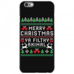 merry christmas ya filthy animal iPhone 6/6s Case | Artistshot