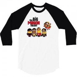 the big minion theory 3/4 Sleeve Shirt | Artistshot
