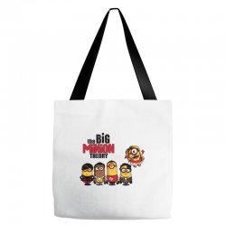 the big minion theory Tote Bags   Artistshot