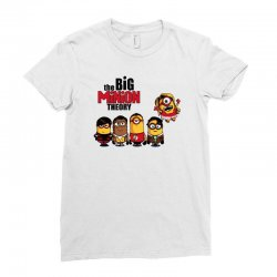 the big minion theory Ladies Fitted T-Shirt   Artistshot