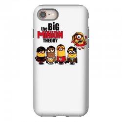 the big minion theory iPhone 8 Case   Artistshot