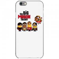 the big minion theory iPhone 6/6s Case   Artistshot