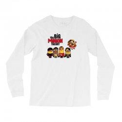 the big minion theory Long Sleeve Shirts   Artistshot