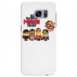 the big minion theory Samsung Galaxy S7 Edge Case   Artistshot