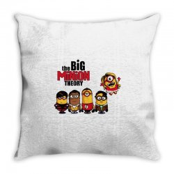 the big minion theory Throw Pillow   Artistshot