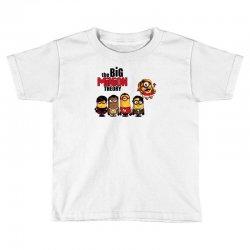 the big minion theory Toddler T-shirt   Artistshot