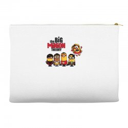 the big minion theory Accessory Pouches   Artistshot