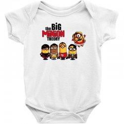 the big minion theory Baby Bodysuit   Artistshot