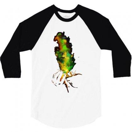 Light It Up! 3/4 Sleeve Shirt Designed By Mdk Art