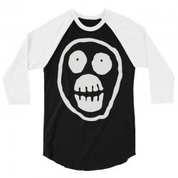 the mighty boosh monkey skull 3/4 Sleeve Shirt | Artistshot
