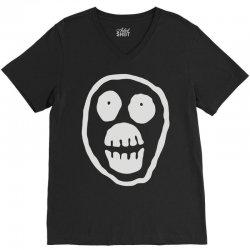 the mighty boosh monkey skull V-Neck Tee | Artistshot
