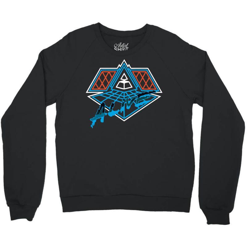 a19dea3f8 Custom Daft Punk Alive Crewneck Sweatshirt By Sbm052017 - Artistshot