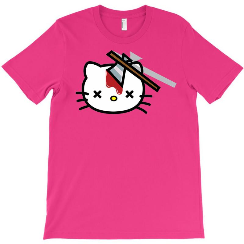 c12ddb92e Custom Hello Kitty Goodbye Kitty T-shirt By Mdk Art - Artistshot