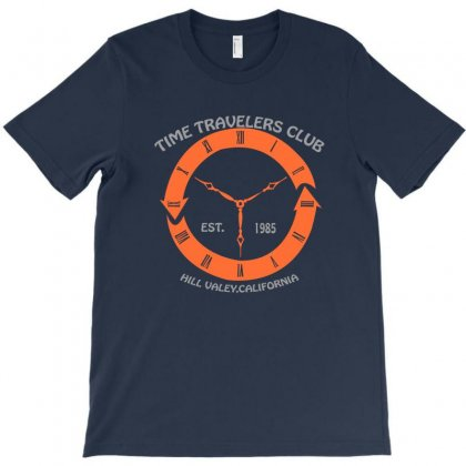 Time Travelers Club T-shirt Designed By Mdk Art
