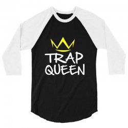 trap queen 3/4 Sleeve Shirt | Artistshot