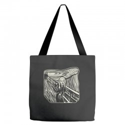 the scream Tote Bags | Artistshot