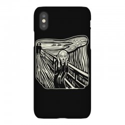 the scream iPhoneX Case | Artistshot