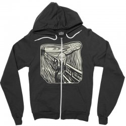 the scream Zipper Hoodie | Artistshot