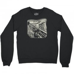 the scream Crewneck Sweatshirt | Artistshot