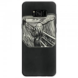 the scream Samsung Galaxy S8 Case | Artistshot