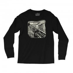the scream Long Sleeve Shirts | Artistshot