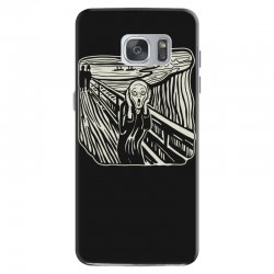 the scream Samsung Galaxy S7 Case | Artistshot