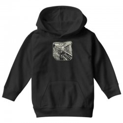the scream Youth Hoodie | Artistshot