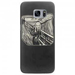 the scream Samsung Galaxy S7 Edge Case | Artistshot