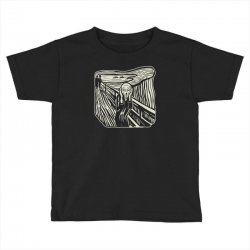 the scream Toddler T-shirt | Artistshot