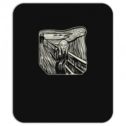 the scream Mousepad | Artistshot