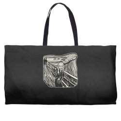 the scream Weekender Totes | Artistshot