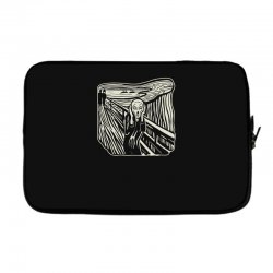 the scream Laptop sleeve | Artistshot