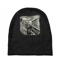 the scream Baby Beanies | Artistshot