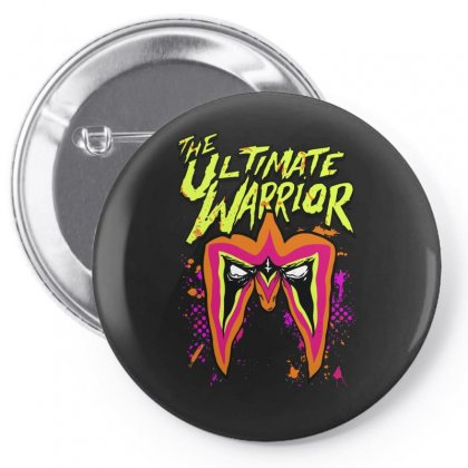 The Ultimate Wrestler Pin-back Button Designed By Mdk Art