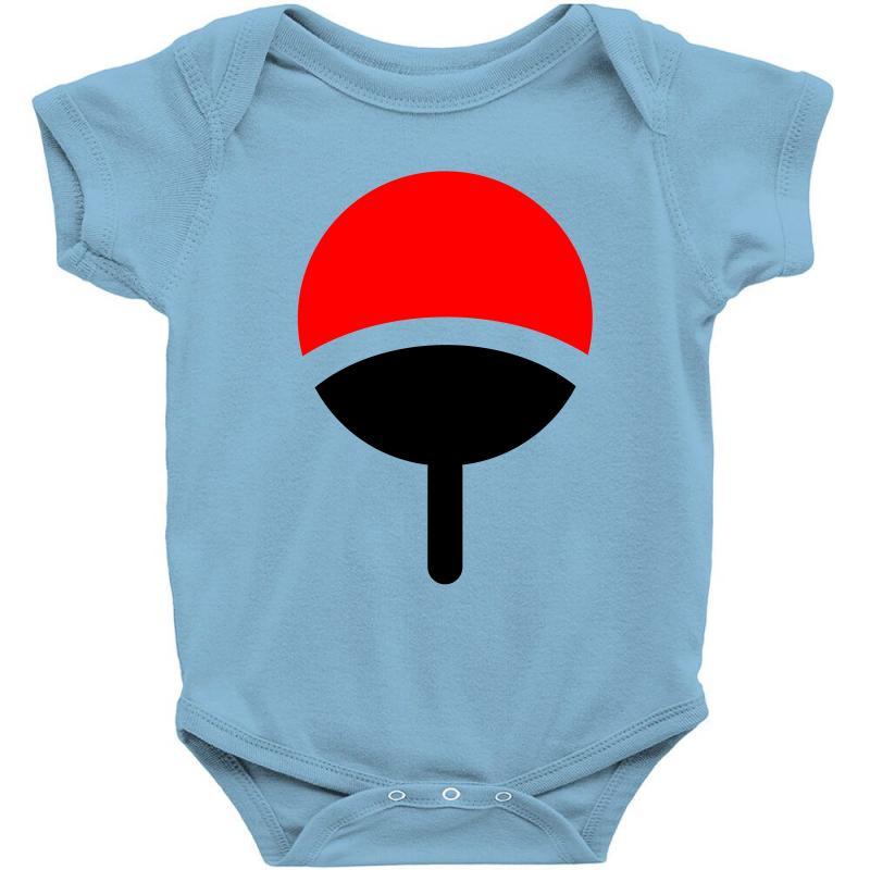 Custom Uchiha Clan Symbol Crest Baby Bodysuit By Muliat Artistshot