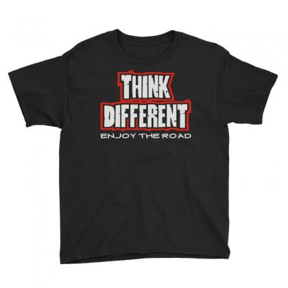 Think Different Youth Tee Designed By Mdk Art